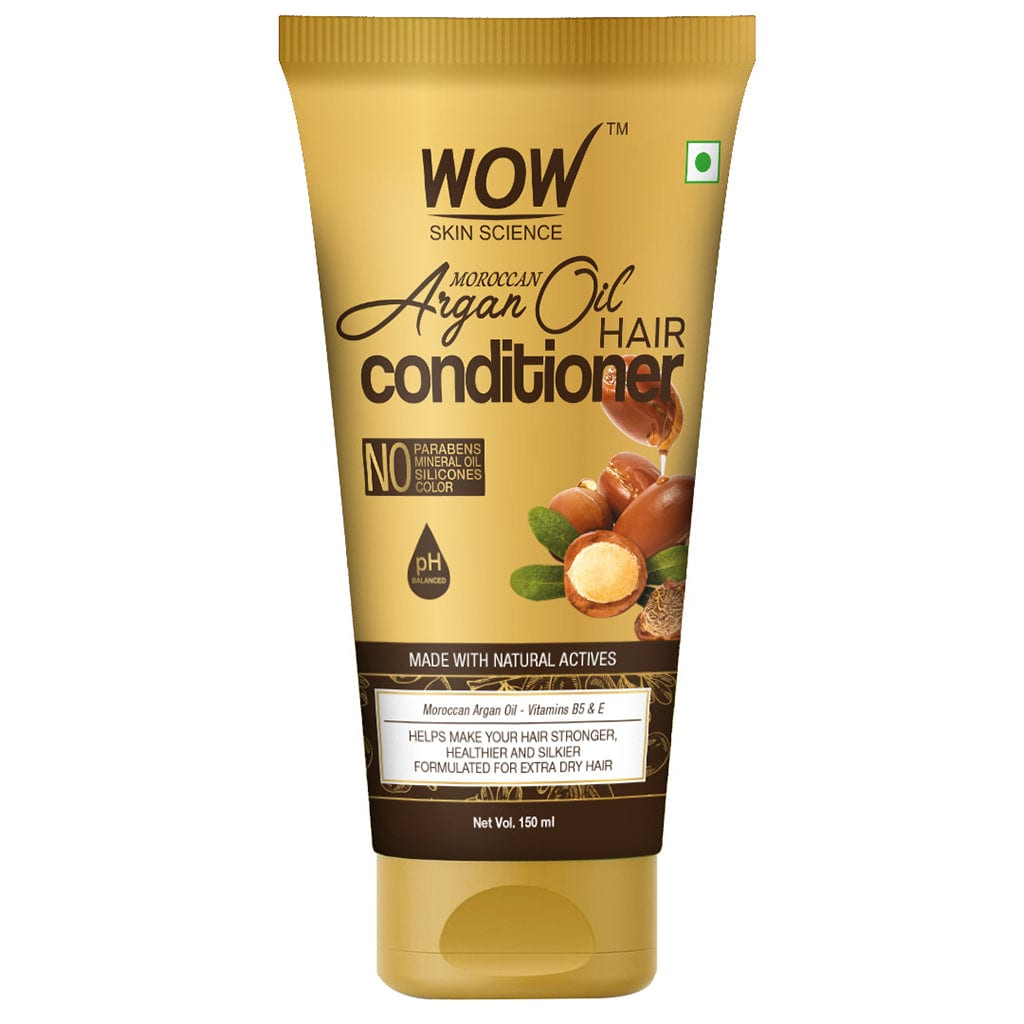 WOW Skin Science Moroccan Argan Oil Conditioner - 150 mL - BuyWow