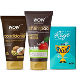 I love my dad hair care combo (WOW Skin Science Acv shampoo 200ml + Avacado conditioner 150ml + RAGE chocolate) - BuyWow