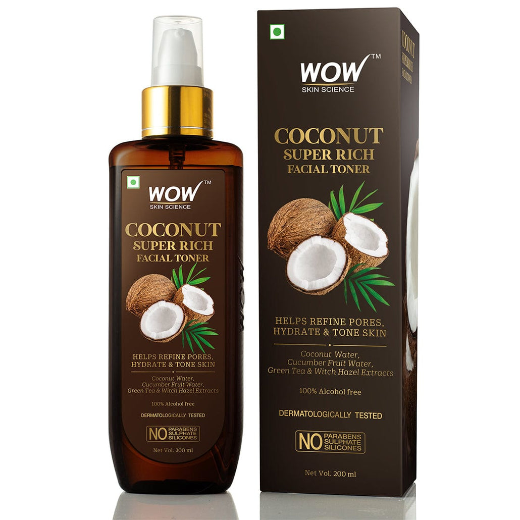 WOW Skin Science Coconut Super Rich Facial Toner - 200 ml