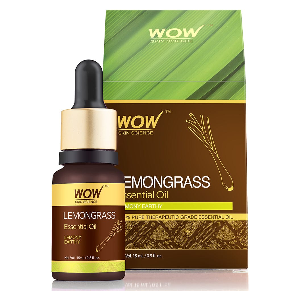 WOW Skin Science Lemongrass Essential Oil - 15 ml - BuyWow
