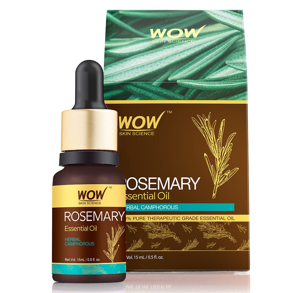 WOW Skin Science Rosemary Essential Oil - 15 ml - BuyWow
