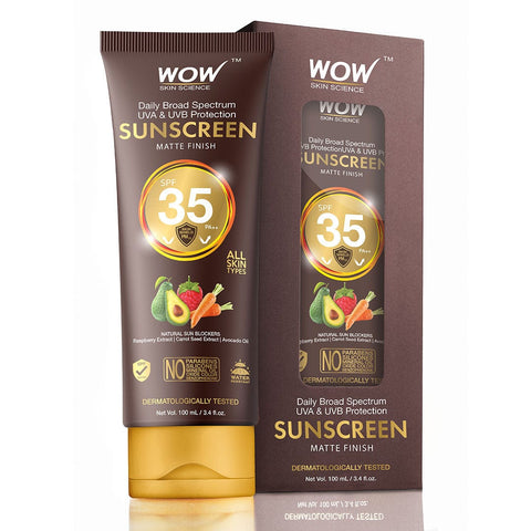 WOW Skin Science Sunscreen Lotion SPF 35 - 100 mL - TUBE - BuyWow
