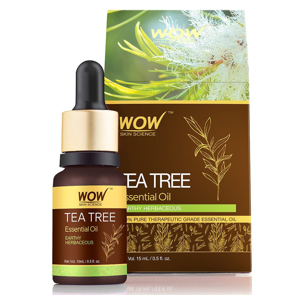 WOW Skin Science Tea Tree Essential Oil - 15 ml - BuyWow