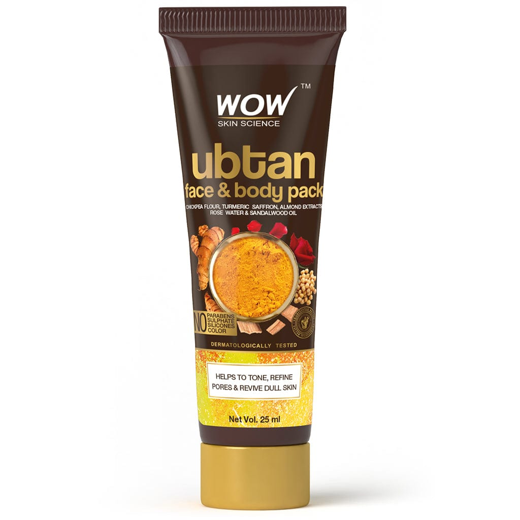 SAMPLER: WOW Skin Science Ubtan Face & Body Pack - 25 ml