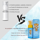 WOW Skin Science Cool Suds Foaming Face Wash with Aloe Barbadensis Leaf & Calendula Flower Extract - Tear Free - No Parabens, Sulphates, Silicones & Color - 100 ml - BuyWow