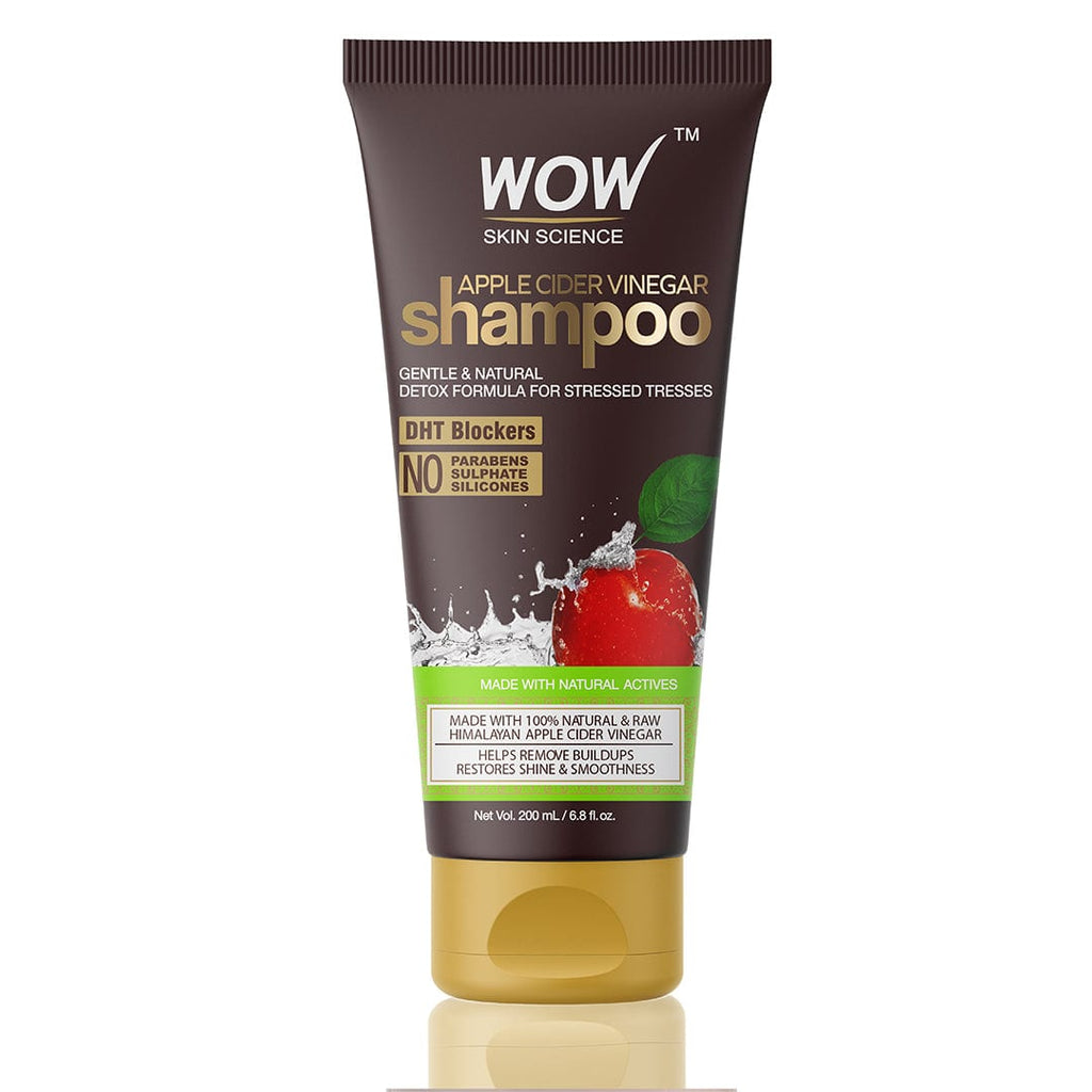 WOW Skin Science Apple Cider Vinegar Shampoo (Tube) - 200 mL - BuyWow