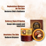 WOW Skin Science Raw Argan Oil Body Butter - No Parabens, Silicones, Mineral Oil & Color - 200 ml