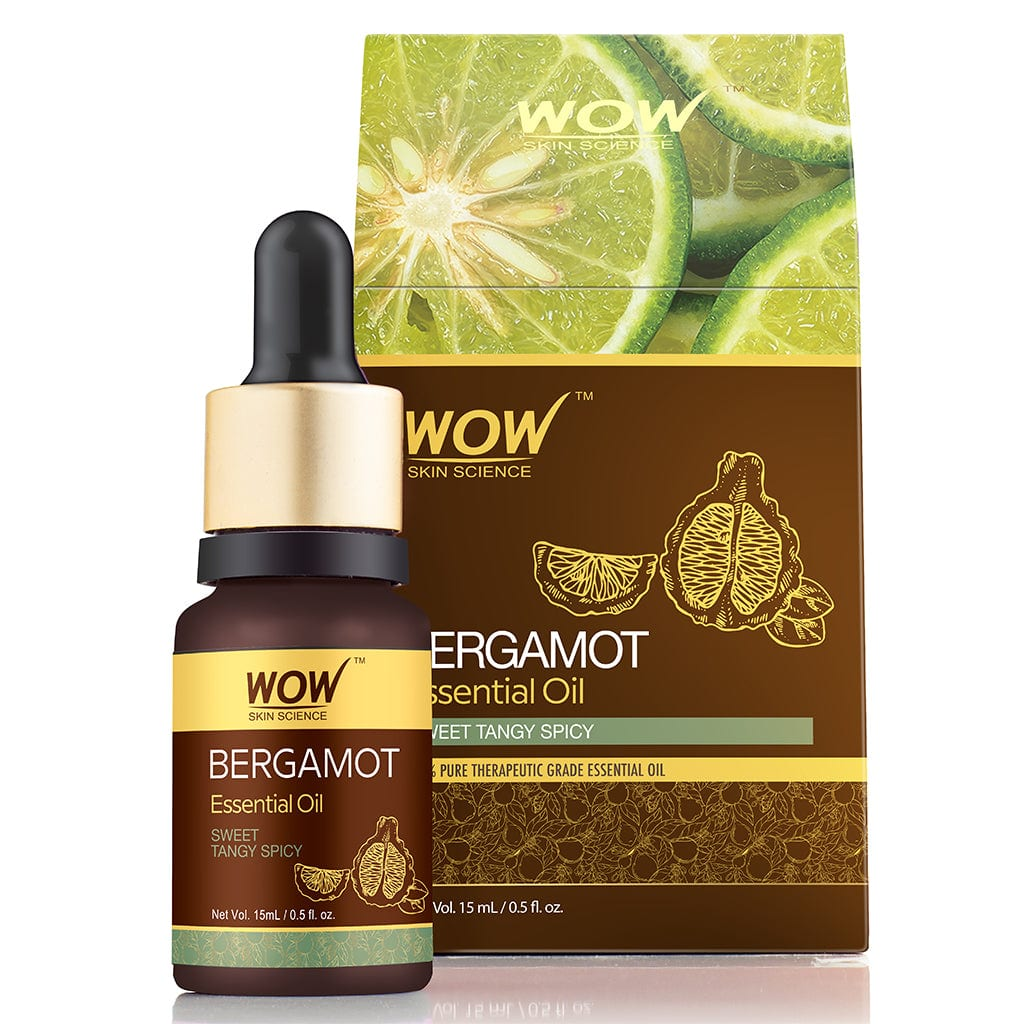 WOW Skin Science Bergamot Essential Oil - 15 ml - BuyWow