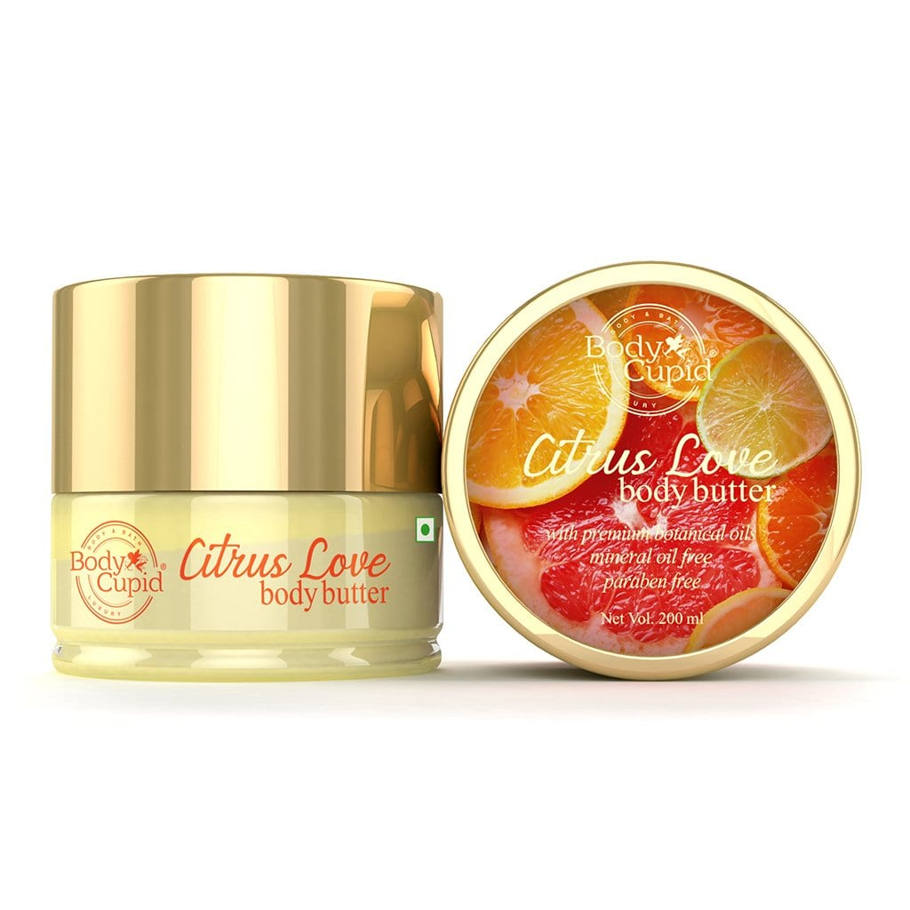 WOW Skin Science Citrus Body Butter - No Parabens, Silicones, Mineral Oil & Color - 200mL - BuyWow