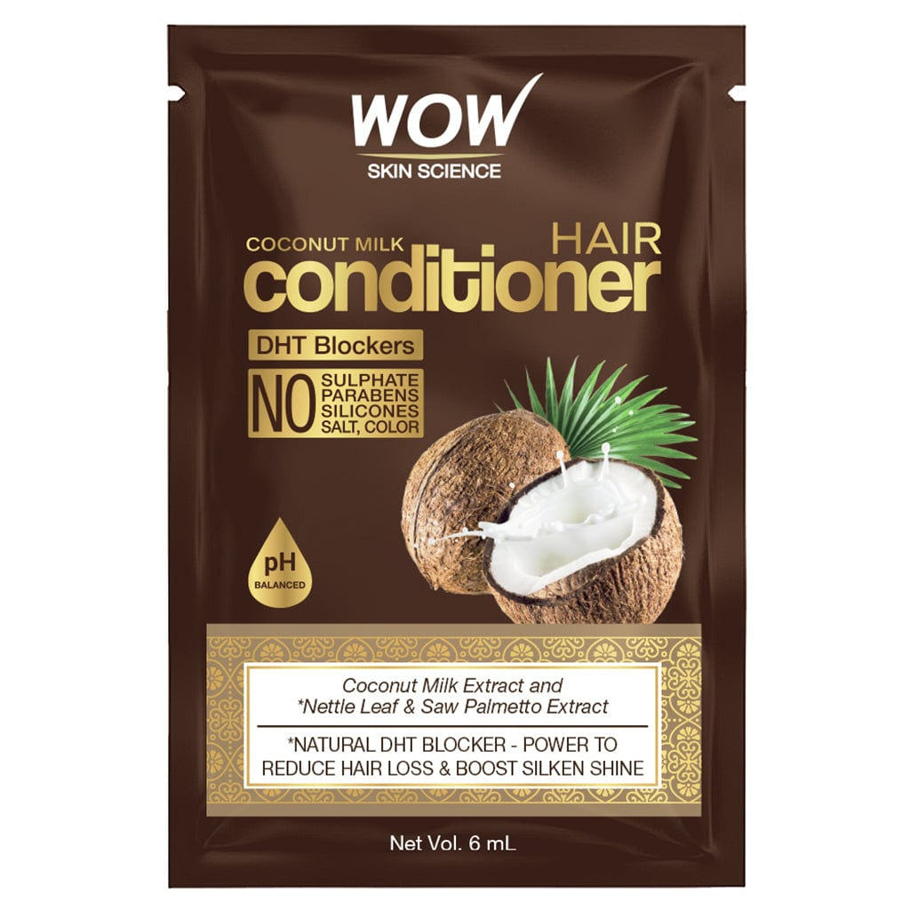 WOW Skin Science Coconut Milk Conditioner 6 ml Sachet - BuyWow