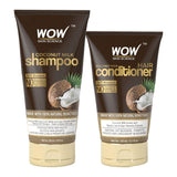 WOW Skin Science Coconut Milk Shampoo + Coconut Milk Conditioner- 350 ml - BuyWow
