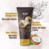 WOW Skin Science Coconut Gentle Hand Cream With Coconut Oil + Hyaluronic Acid - No Parabens, Silicones, Mineral Oil, Color & Pg - 40 ml - BuyWow