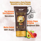 WOW Skin Science Sunscreen Face Serum SPF 55 - BuyWow