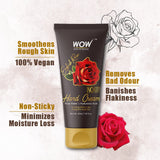 WOW Skin Science English Rose Gentle Hand Cream With Rose Water + Hyaluronic Acid - No Parabens, Silicones, Mineral Oil, Color & Pg - 40 ml - BuyWow