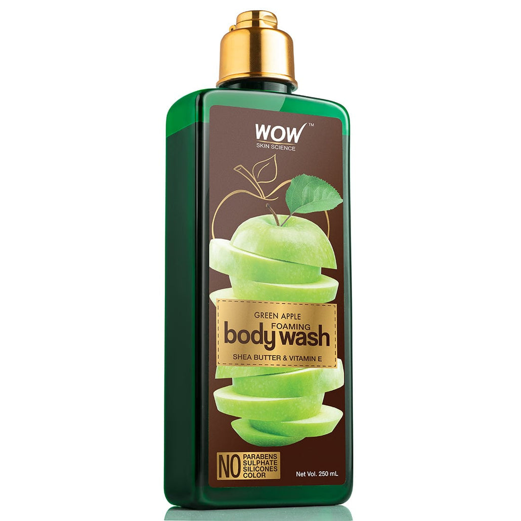 WOW Skin Science Green Apple Foaming Body Wash - 250 mL