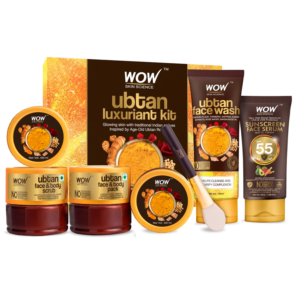 WOW Skin Science Luxuriant Ubtan Kit - BuyWow