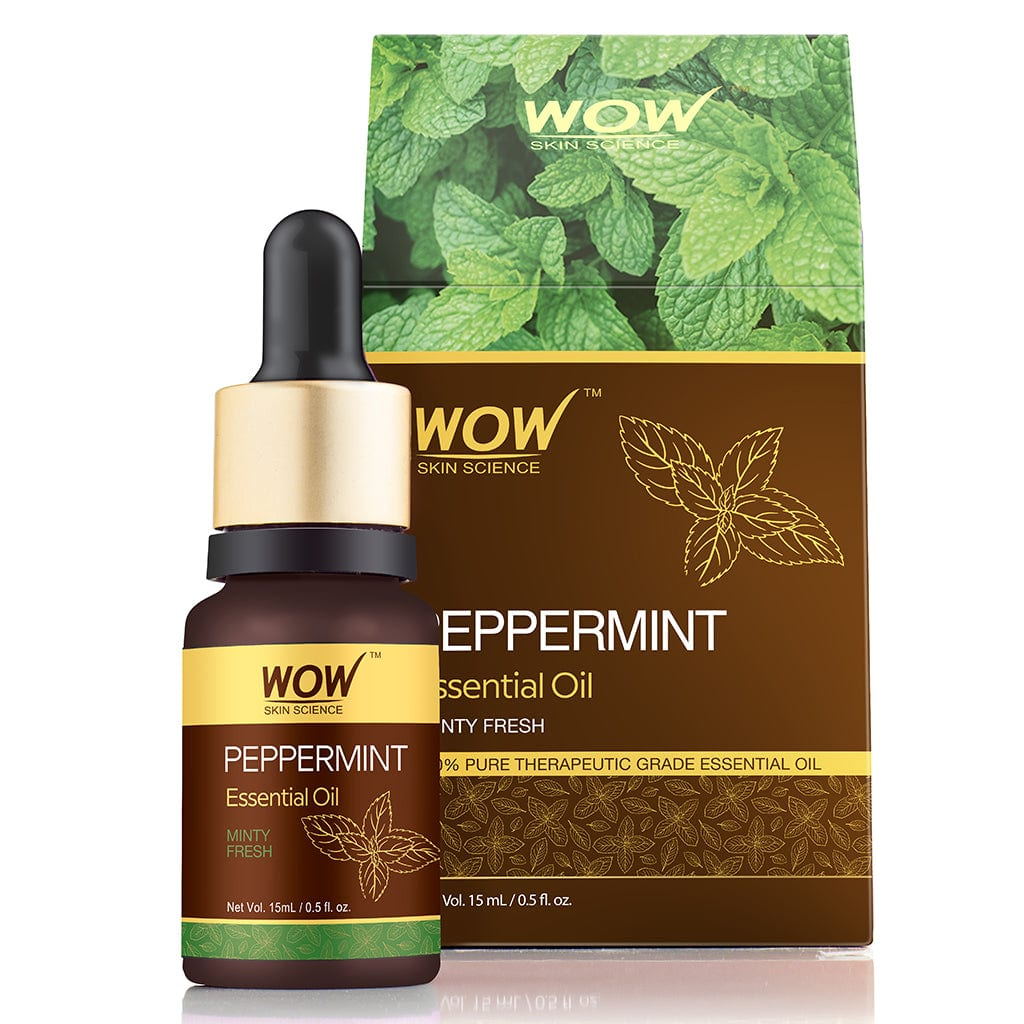 WOW Skin Science Peppermint Essential Oil - 15 ml - BuyWow