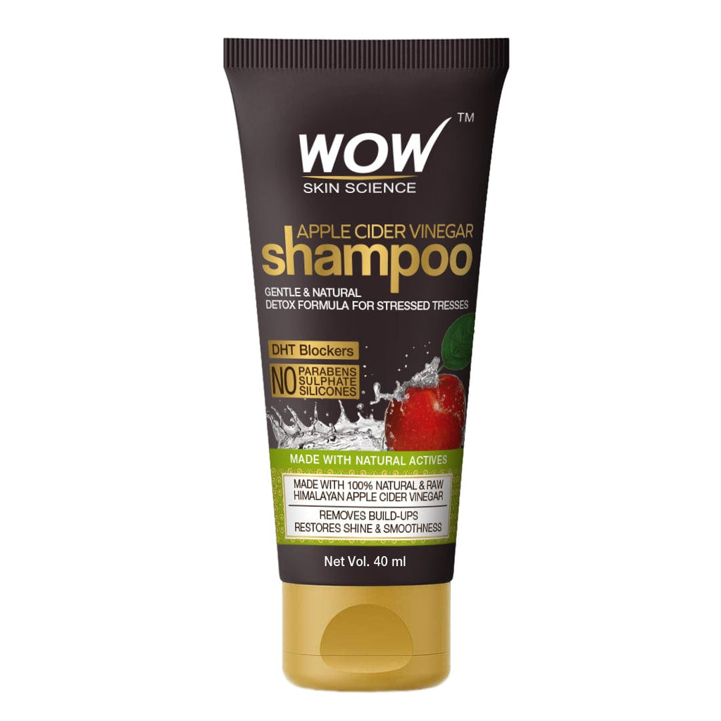 WOW Skin Science Apple Cider Vinegar Shampoo - 40 mL - BuyWow