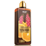 WOW Skin Science Valencia Orange & Ginger Foaming Body Wash - No Parabens, Sulphate, Silicones & Color - 250 ml - BuyWow