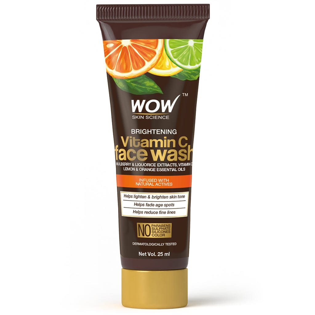SAMPLER: WOW Skin Science Brightening Vitamin C Face Wash - 25 ml