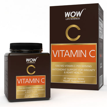 WOW Life Science Vitamin C Capsules - BuyWow