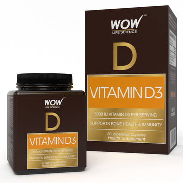 WOW Life Science Vitamin D3 Capsules - BuyWow