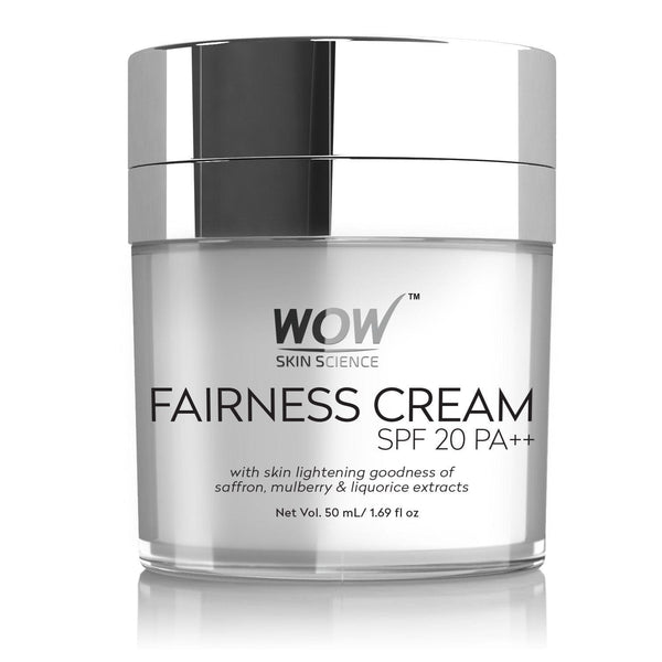 WOW Skin Science Fairness Cream - SPF 20 PA++ - 50 mL - BuyWow