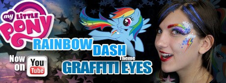 Rainbow Dash Graffiti Eyes - Video Tutorial