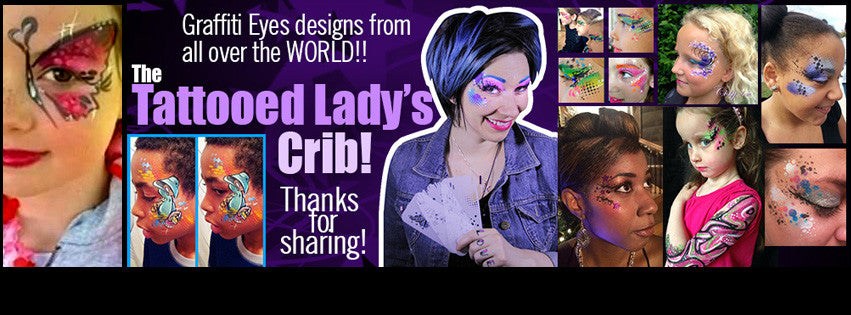 Graffiti Eyes – The Tattooed Lady's Crib on Facebook