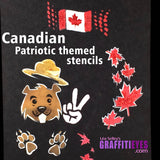 Oh Canada Stencil Kit!