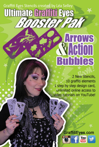 Arrows & Action Bubbles Booster Pak
