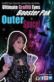 OuterSpace GraffitiEyes Booster Face Painting Stencils