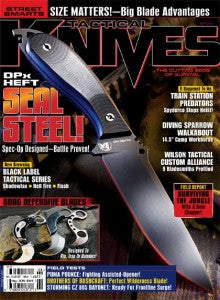 September 2012 Tactical Knives Magazine Cover