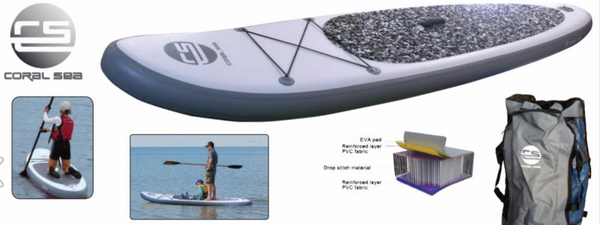 CORAL SEA 320CM INFLATABLE STAND UP PADDLE BOARD