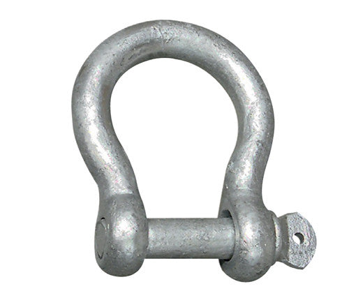 GALVANIZED BOW SHACKLE