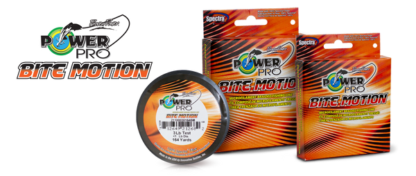 POWER PRO BITE MOTION BRAIDED LINE