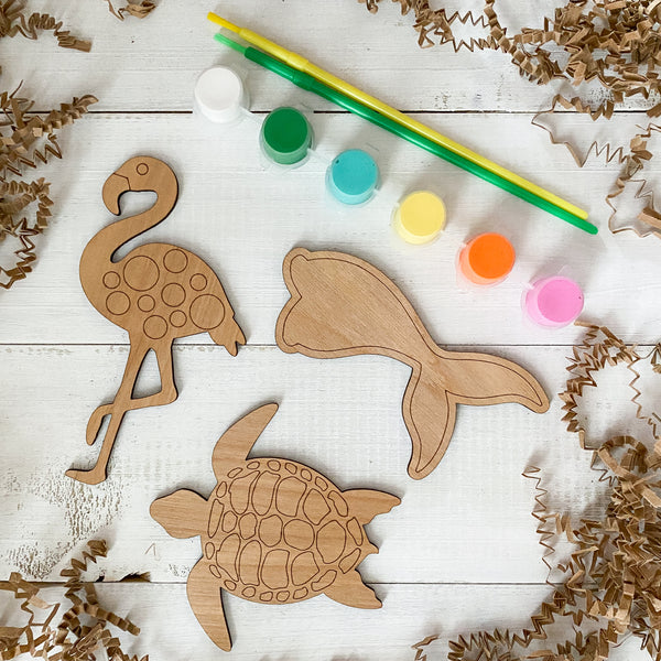 Mermaid & Friends Paint Kit