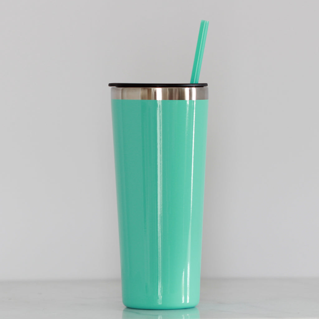 Mint Tall Tumbler - Lowcountry Design Studio