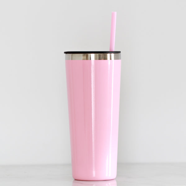 Pink Tall Tumbler - Lowcountry Design Studio