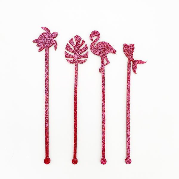 Cocktail Swizzle Sticks | Set 2 - Lowcountry Design Studio