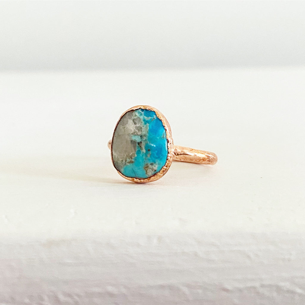 Turquoise Ring | Size 9.5 - Lowcountry Design Studio
