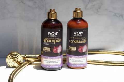Red Onion Shampoo And Conditioner