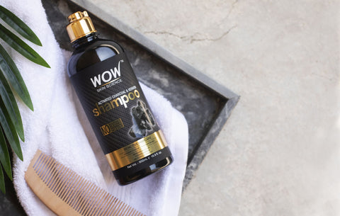 WOW Skin Science Activated Charcoal and Keratin Shampoo