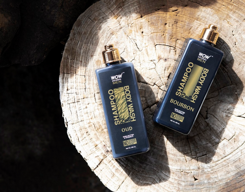 oud and bourbon body wash