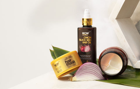 black seed onion hair oil from WOW Skin Science