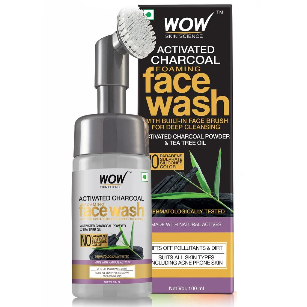 charcoal face wash for oily skin