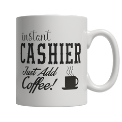 Limited Edition - Instant Cashier Just Add Coffee! Female