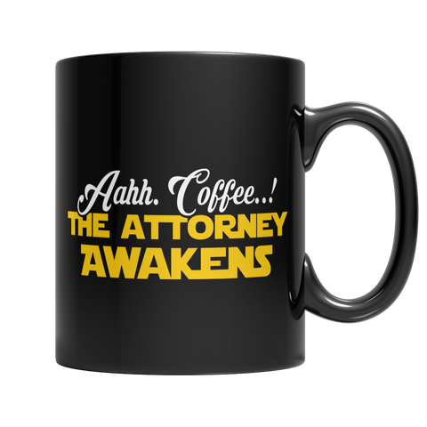 Limited Edition - Aahh Coffee..! The Attorney Awakens