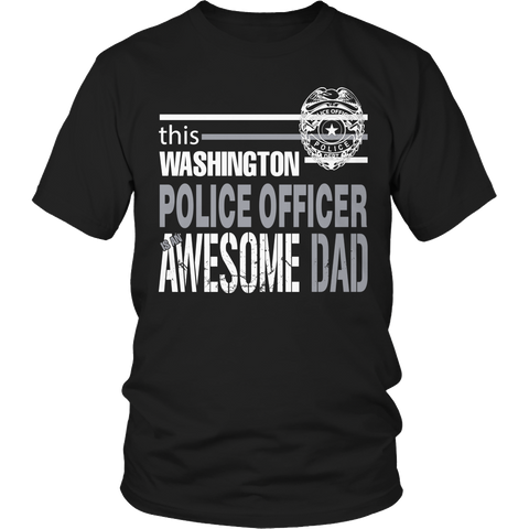 Limited Edition - This Washington police officer is an awesome dad