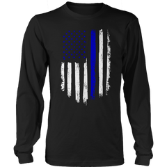 Limited Edition - Police - Thin Blue Line - Flag - See Different Shirt Styles Below